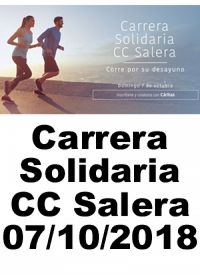 CARRERA SOLIDARIA C.C.SALERA 07/10/2018