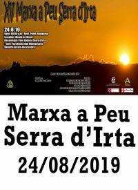 MARXA A PEU SERRA D'IRTA 24/08/2019