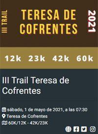 III TRAIL TERESA DE COFRENTES 01/05/2021