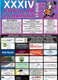 XXXIV POPULAR LA BARONA 27/07/2019